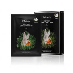 JMsolution Green Dear Rabbit Carrot Mask Pure